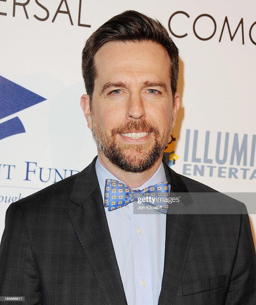 Actor <a gi-track='captionPersonalityLinkClicked' href=/galleries/search?phrase=Ed+Helms&family=editorial&specificpeople=662337 ng-click='$event.stopPropagation()'>Ed Helms</a> arrives at Fulfillment Fund Stars 2013 Benefit Gala at The Beverly Hilton Hotel on October 23, 2013 in Beverly Hills, California.