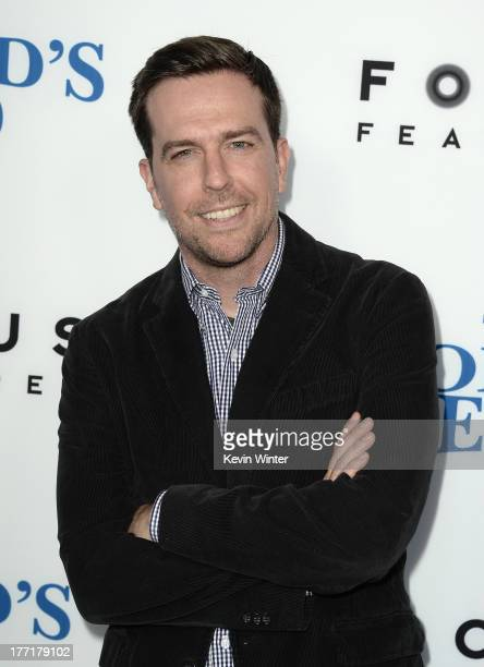 Actor Ed Helms arrives at the premiere of Focus Features' 'The World's End' at ArcLight Cinemas Cinerama Dome on August 21 2013 in Hollywood...