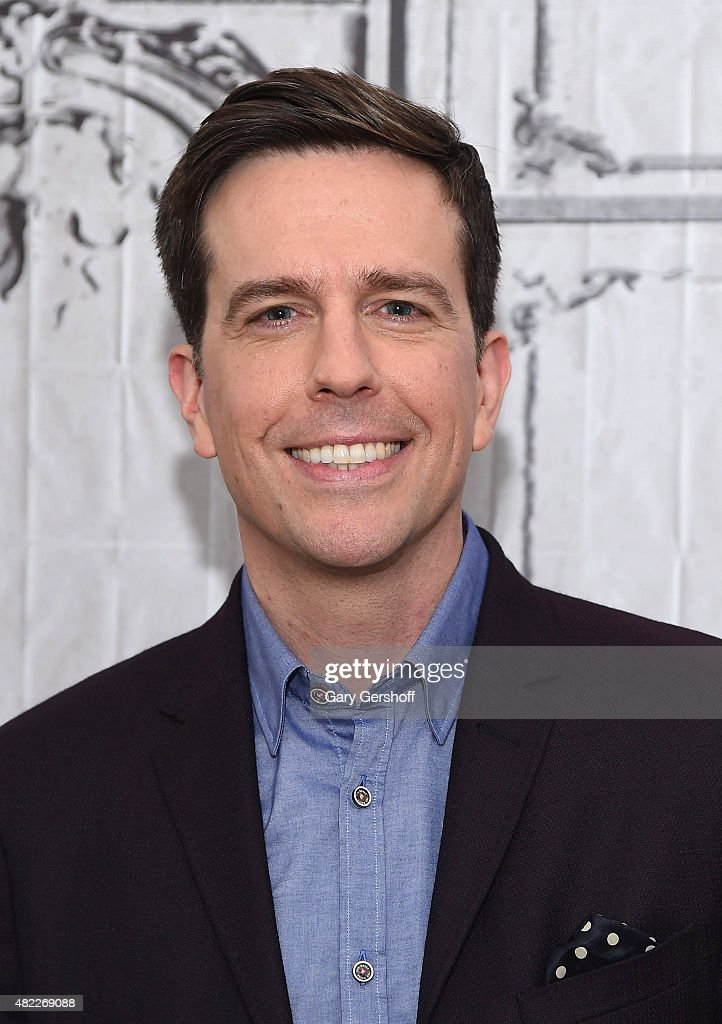 Actor <a gi-track='captionPersonalityLinkClicked' href=/galleries/search?phrase=Ed+Helms&family=editorial&specificpeople=662337 ng-click='$event.stopPropagation()'>Ed Helms</a> attends AOL Build Presents: 'Vacation' at AOL Studios In New York on July 29, 2015 in New York City.