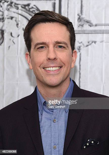 Actor Ed Helms attends AOL Build Presents 'Vacation' at AOL Studios In New York on July 29 2015 in New York City