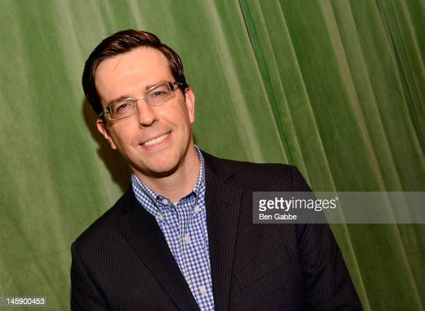 Actor Ed Helms attends the 2012 Project Renewal Gala at The Bowery Hotel on June 7 2012 in New York City