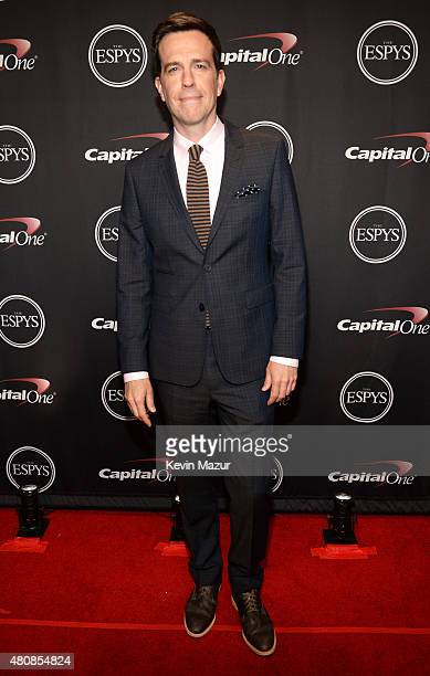 Actor Ed Helms attends The 2015 ESPYS at Microsoft Theater on July 15 2015 in Los Angeles California