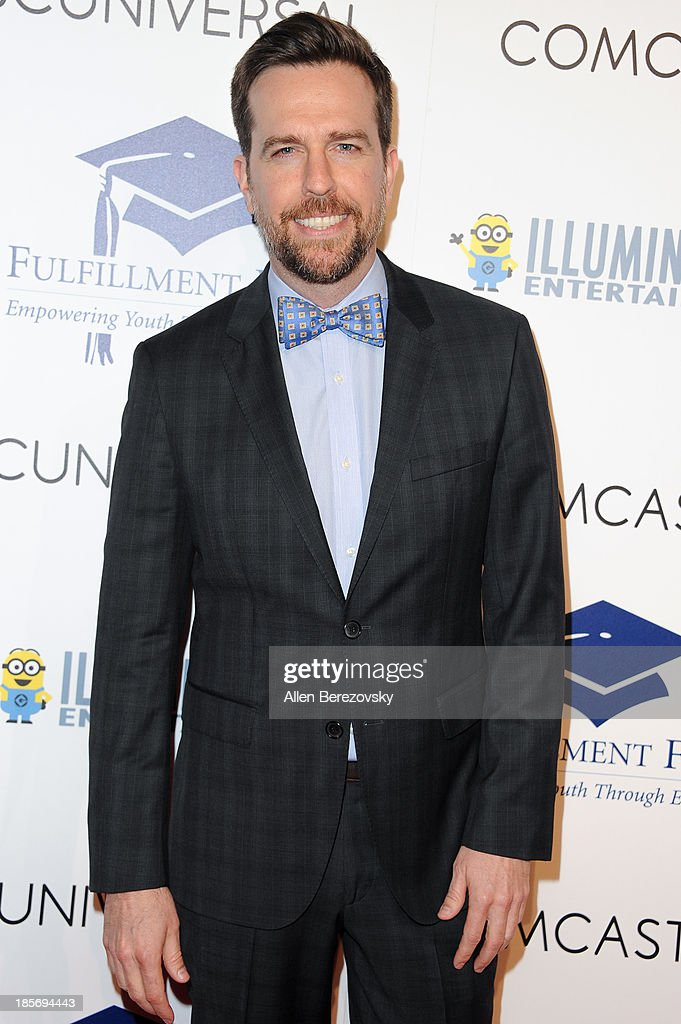 Actor <a gi-track='captionPersonalityLinkClicked' href=/galleries/search?phrase=Ed+Helms&family=editorial&specificpeople=662337 ng-click='$event.stopPropagation()'>Ed Helms</a> attends the Fulfillment Fund Stars 2013 Benefit Gala at The Beverly Hilton Hotel on October 23, 2013 in Beverly Hills, California.