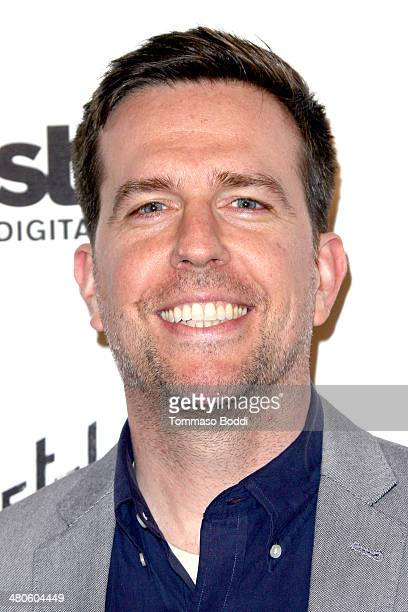 Actor Ed Helms attends the 'Mistaken For Strangers' Los Angeles premiere held at The Shrine Auditorium on March 25 2014 in Los Angeles California