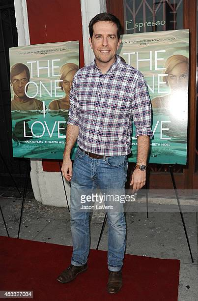 Actor Ed Helms attends the premiere of 'The One I Love' at the Vista Theatre on August 7 2014 in Los Angeles California