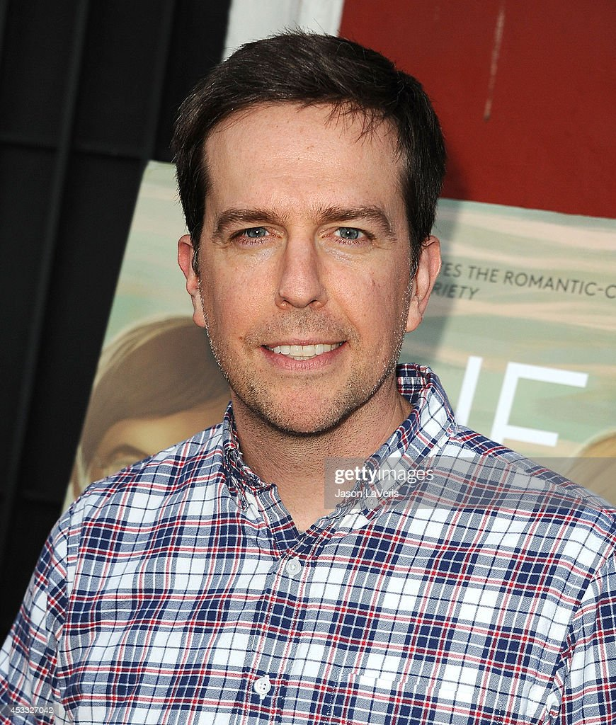 Actor <a gi-track='captionPersonalityLinkClicked' href=/galleries/search?phrase=Ed+Helms&family=editorial&specificpeople=662337 ng-click='$event.stopPropagation()'>Ed Helms</a> attends the premiere of 'The One I Love' at the Vista Theatre on August 7, 2014 in Los Angeles, California.