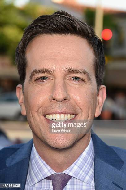 Actor Ed Helms attends the premiere of Warner Bros Pictures 'Vacation' at Regency Village Theatre on July 27 2015 in Westwood California
