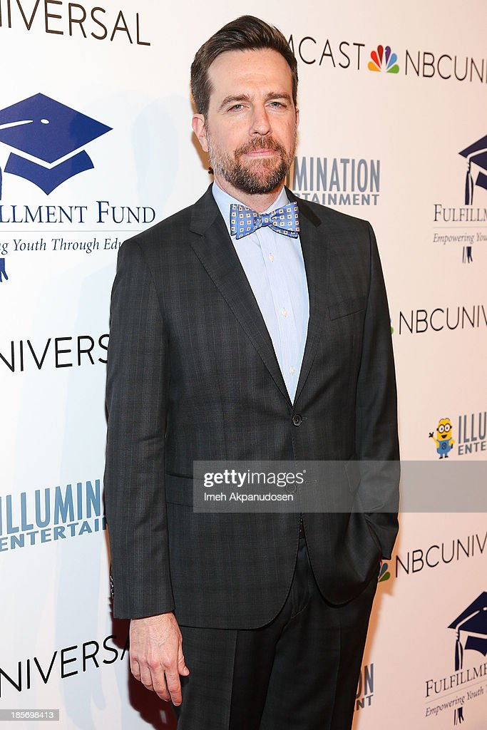 Actor <a gi-track='captionPersonalityLinkClicked' href=/galleries/search?phrase=Ed+Helms&family=editorial&specificpeople=662337 ng-click='$event.stopPropagation()'>Ed Helms</a> attends the STARS 2013 Benefit Gala By The Fulfillment Fund at The Beverly Hilton Hotel on October 23, 2013 in Beverly Hills, California.