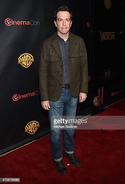 """Actor Ed Helms attends Warner Bros Pictures Invites You to """"The Big Picture"""" an Exclusive Presentation Highlighting the Summer of 2015 and Beyond at..."""