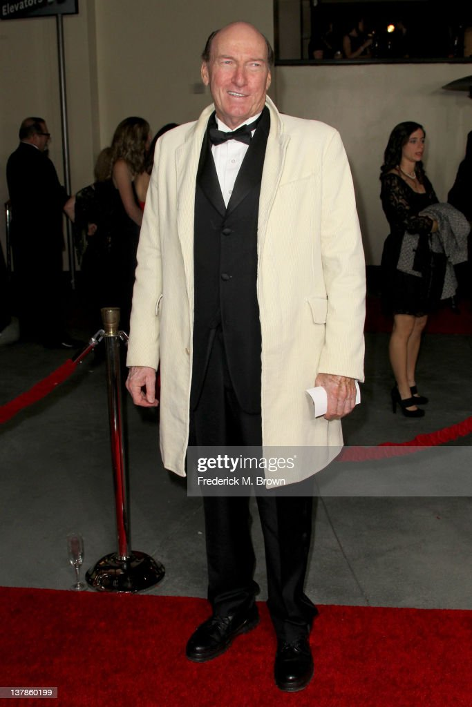 Actor Ed Lauter arrives at the 64th Annual Directors Guild Of America Awards held at the Grand Ballroom at Hollywood & Highland on January 28, 2012 in Hollywood, California.