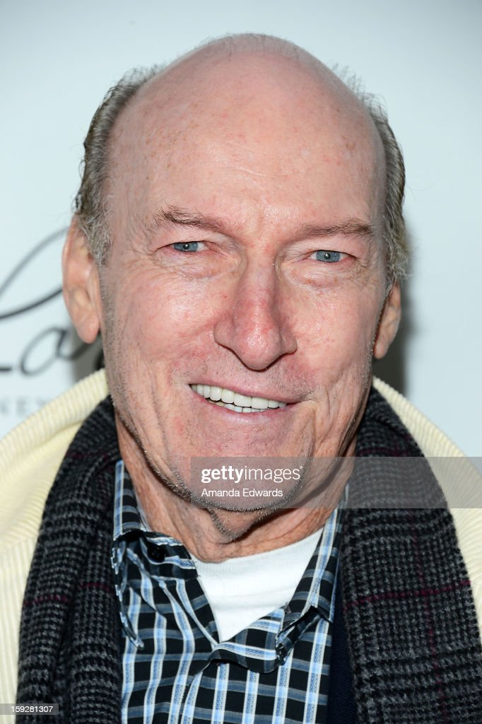 Actor Ed Lauter arrives at the Hooray For Hollywood...High Gala at the El Capitan Theatre on January 10, 2013 in Hollywood, California.