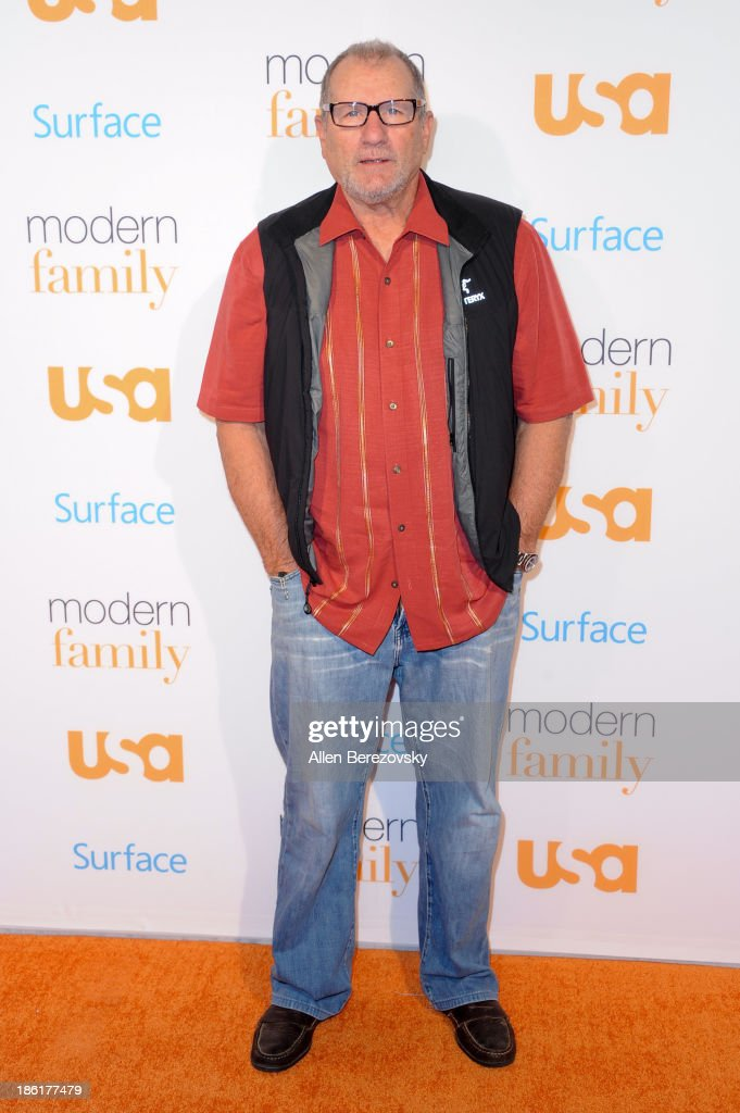 Actor Ed O'Neill arrives at the 'Modern Family' Fan Appreciation Day hosted by USA Network at Westwood Village on October 28, 2013 in Los Angeles, California.