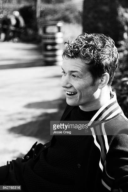 Actor Ed Speleers is photographed for Boys By Girls magazine on March 3 2016 in London England