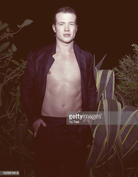 Actor Ed Speleers poses for a portrait session on January 10 Los Angeles CA