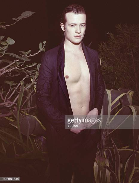Actor Ed Speleers poses for a portrait session on January 10 Los Angeles CA Published Image
