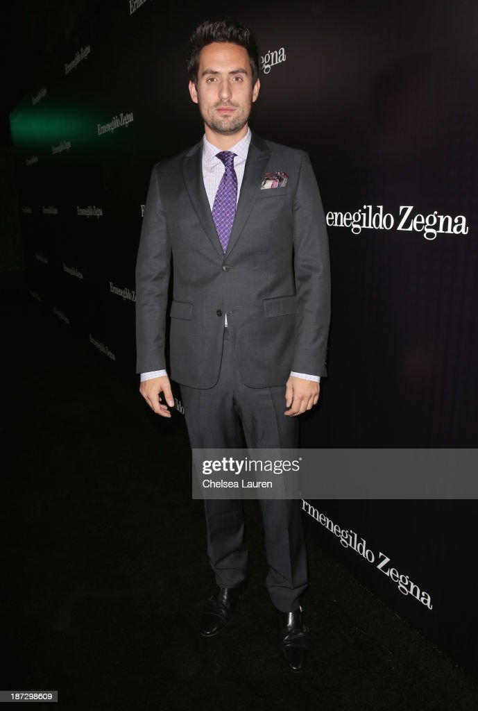Actor Ed Weeks attends Ermenegildo Zegna Global Store Opening hosted by Gildo Zegna and Stefano Pilati at Ermenegildo Zegna Boutique on November 7, 2013 in Beverly Hills, California.