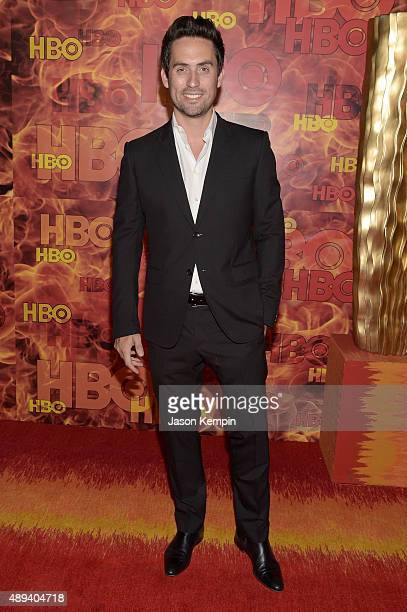 Actor Ed Weeks attends HBO's Official 2015 Emmy After Party at The Plaza at the Pacific Design Center on September 20 2015 in Los Angeles California