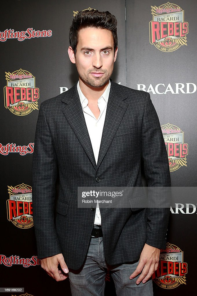 Actor Ed Weeks attends Inaugural Bacardi Rebels event hosted by Rolling Stone at Roseland Ballroom on May 20, 2013 in New York City.