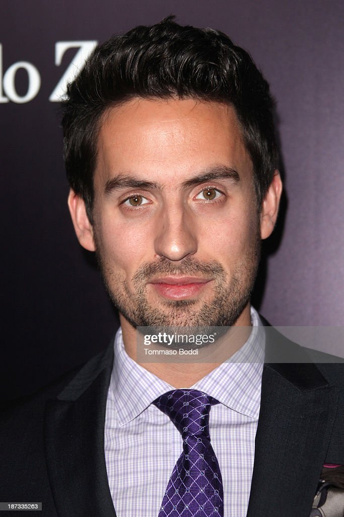 Actor Ed Weeks attends the Ermenegildo Zegna boutique Rodeo Drive grand opening held at Ermenegildo Zegna Boutique on November 7, 2013 in Beverly Hills, California.