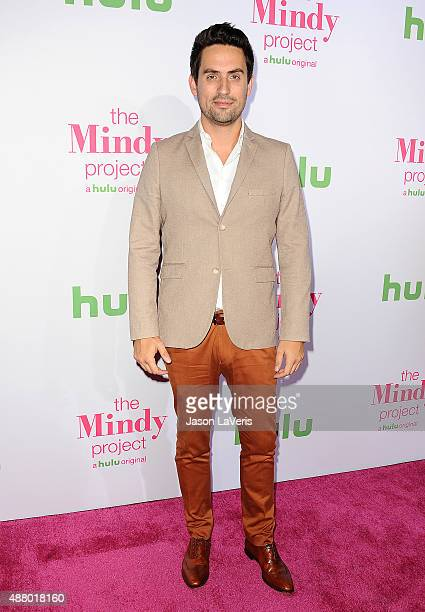 Actor Ed Weeks attends 'The Mindy Project' 4th season premiere at Ysabel on September 12 2015 in West Hollywood California