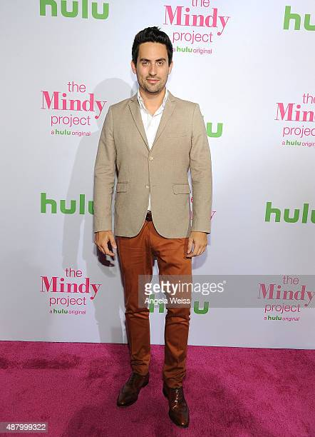 Actor Ed Weeks attends the premiere of Hulu's 'The Mindy Project' Season Four at Ysabel on September 12 2015 in West Hollywood California