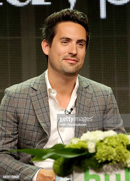 Actor Ed Weeks speaks onstage during 'The Mindy Project' panel at the Hulu 2015 Summer TCA Presentation at The Beverly Hilton Hotel on August 9 2015...