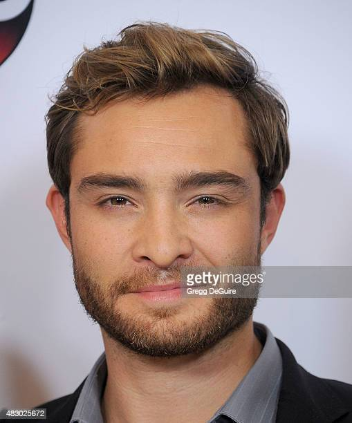 Actor Ed Westwick arrives at the Disney ABC Television Group's 2015 TCA Summer Press Tour on August 4 2015 in Beverly Hills California