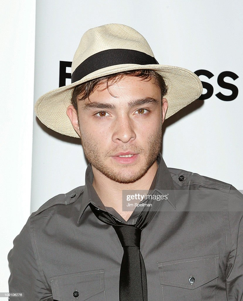 Actor Ed Westwick attends the EXPRESS 30th anniversary party at Eyebeam on May 20, 2010 in New York City.