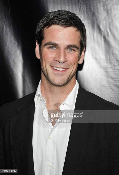 Actor Eddie Cahill arrives as 'CSI NY' celebrates its 100th episode on November 1 2008 at the Edison in Los Angeles California