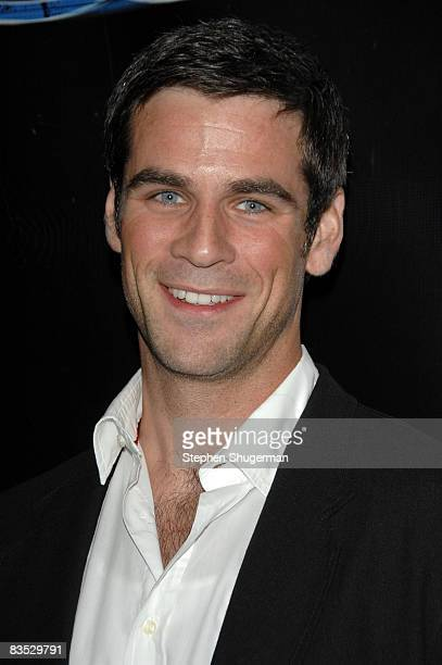Actor Eddie Cahill attends the 'CSI NY' celebration of its 100th episode at The Edison on November 1 2008 in Los Angeles California