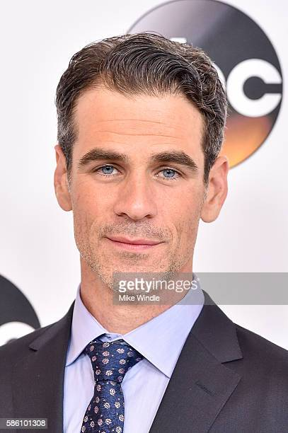 Actor Eddie Cahill attends the Disney ABC Television Group TCA Summer Press Tour on August 4 2016 in Beverly Hills California
