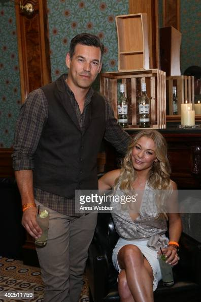 Actor Eddie Cibrian and Singer LeAnn Rimes attend BACARDI Loud Untameable LIVE Concert Event Celebrates Cuban Independence Day In Brooklyn at Weylin...