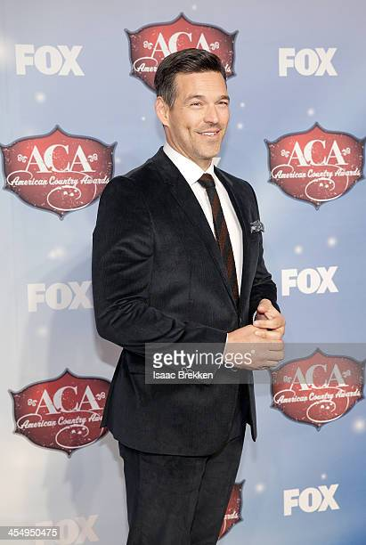 Actor Eddie Cibrian arrives at the American Country Awards 2013 at the Mandalay Bay Events Center on December 10 2013 in Las Vegas Nevada
