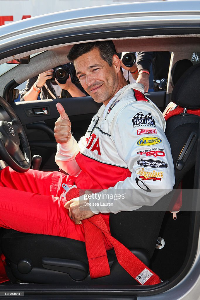 Actor <a gi-track='captionPersonalityLinkClicked' href=/galleries/search?phrase=Eddie+Cibrian&family=editorial&specificpeople=689383 ng-click='$event.stopPropagation()'>Eddie Cibrian</a> attends the 36th annual Toyota pro/celebrity race press day on April 3, 2012 in Long Beach, California.