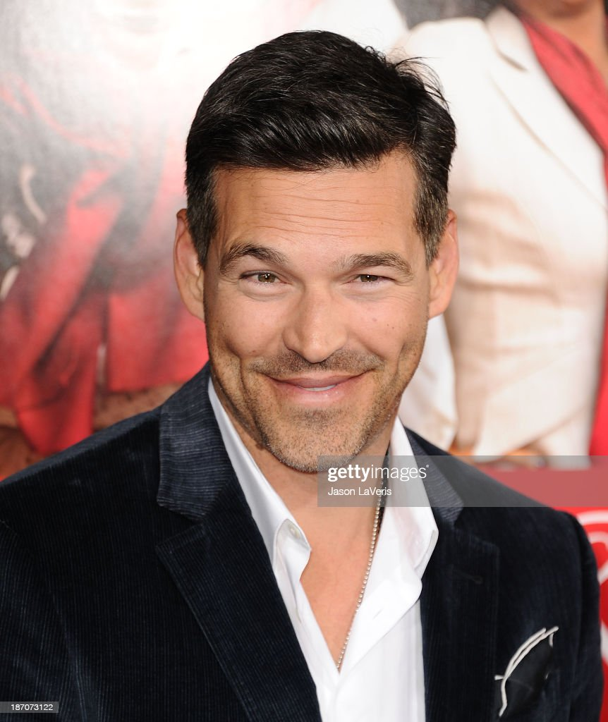 Actor <a gi-track='captionPersonalityLinkClicked' href=/galleries/search?phrase=Eddie+Cibrian&family=editorial&specificpeople=689383 ng-click='$event.stopPropagation()'>Eddie Cibrian</a> attends the premiere of 'The Best Man Holiday' at TCL Chinese Theatre on November 5, 2013 in Hollywood, California.