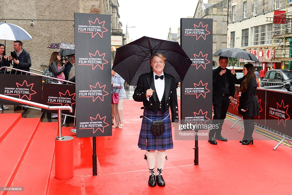 Actor Eddie Izzard attends the EIFF Closing Night Gala and World Premiere of 'Whisky Galore!' during the 70th Edinburgh International Film Festival at Festival Theatre on June 26, 2016 in Edinburgh, United Kingdom.