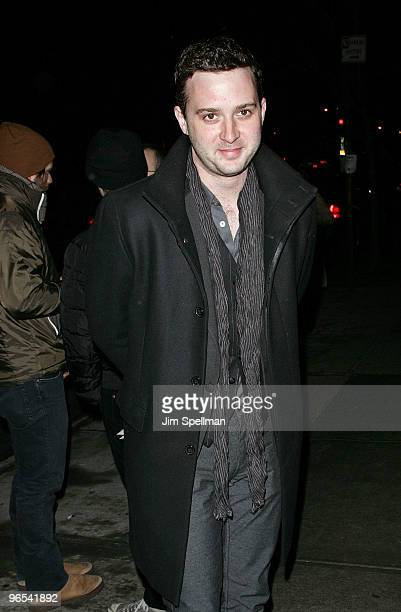 Actor Eddie Kaye Thomas attends the Cinema Society HBO screening of 'How To Make It In America' at Landmark's Sunshine Cinema on February 9 2010 in...