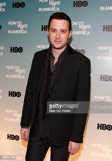 Actor Eddie Kaye Thomas attends the Cinema Society HBO screening of 'How To Make It In America'>> at Landmark's Sunshine Cinema on February 9 2010 in...