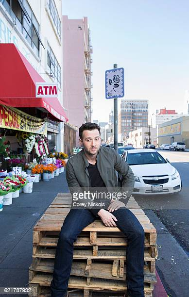 Actor Eddie Kaye Thomas is photographed for Self Assignment on October 26 2015 in Los Angeles California