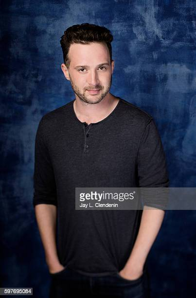 Actor Eddie Kaye Thomas of CBS's 'Scorpion' is photographed for Los Angeles Times at San Diego Comic Con on July 22 2016 in San Diego California