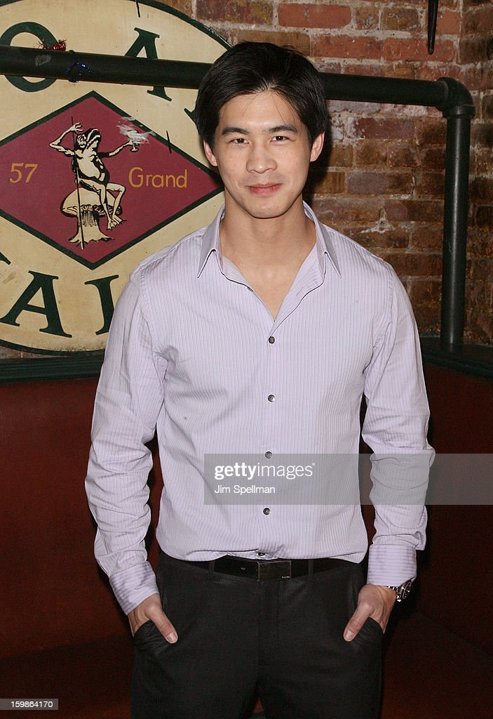 Actor Eddie Liu attends the after party for the opening night of 'The Future Is Not What It Was' at Toad Hall on January 21, 2013 in New York City.
