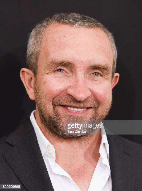 Actor Eddie Marsan attends Focus Features' 'Atomic Blonde' at The Theatre at Ace Hotel on July 24 2017 in Los Angeles California