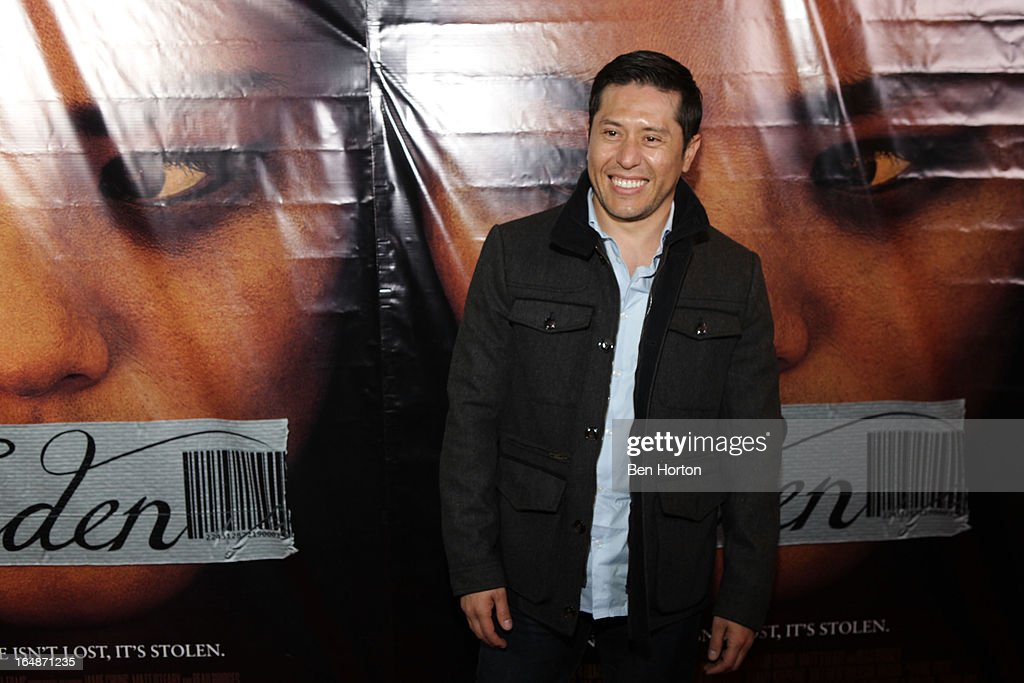 Actor Eddie Martinez attends the premiere of 'Eden' at Laemmle Music Hall on March 28, 2013 in Beverly Hills, California.