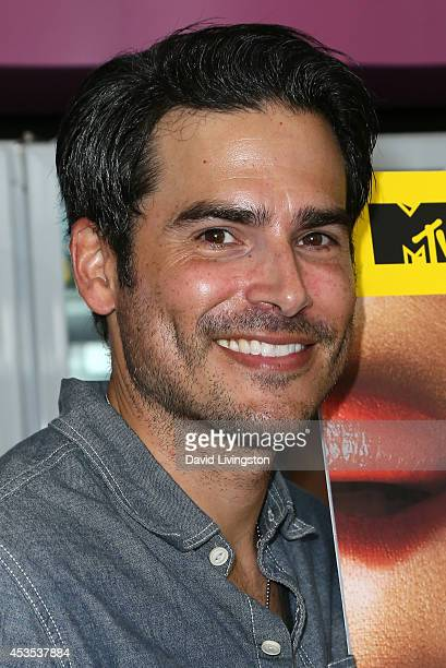 Actor Eddie Matos attends the MTV's 'Finding Carter' fan event at BaskinRobbins on August 12 2014 in Burbank California