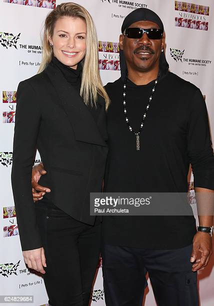Actor Eddie Murphy and his Wife Actress Paige Butcher attend the debut gallery opening of Bria Murphy's 'Subconscious' at Los Angeles Contemporary...