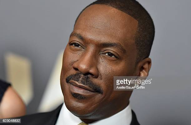 Actor Eddie Murphy arrives at the 20th Annual Hollywood Film Awards at the Beverly Hilton Hotel on November 6 2016 in Los Angeles California