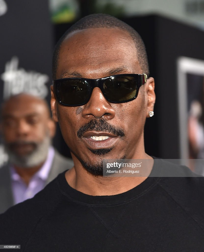 Actor Eddie Murphy arrives to the premiere of Paramount Pictures' 'Hercules' at the TCL Chinese Theatre on July 23 2014 in Hollywood California