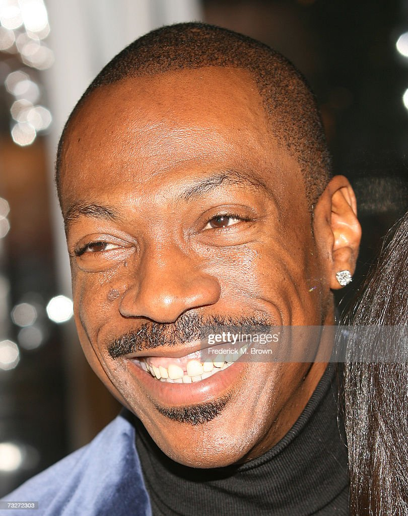 Actor Eddie Murphy attends the film premiere of 'Norbit' at the Mann Village Theatre on February 8, 2007 in Westwood, California.
