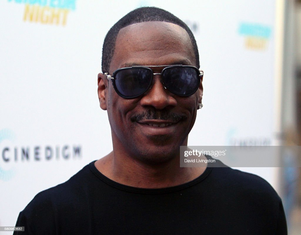 Actor Eddie Murphy attends the premiere of Cinedigm's 'Amateur Night' at ArcLight Hollywood on July 25 2016 in Hollywood California
