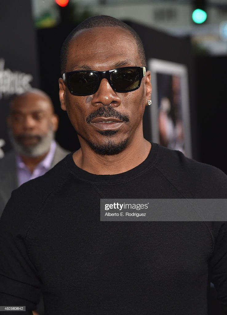 Actor Eddie Murphy attends the premiere of Paramount Pictures' 'Hercules' at TCL Chinese Theatre on July 23 2014 in Hollywood California